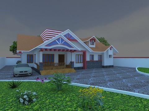 Indian home design:3d design - YouTube