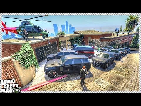 GTA 5 - MAFIA BOSS ARRIVES AT FRANKLIN'S HOUSE