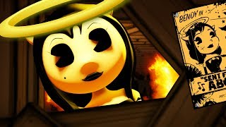 SAVING ALICE ANGEL from BENDY! 😱 - Bendy and the Ink Machine Chapter 4 in 2D (BATIM Fan Gameplay)