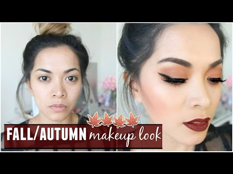 Fall/Autumn Makeup Look! Chit-Chat Talk Through Video!