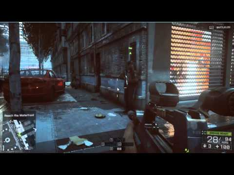 Battlefield 4 - Reach the Waterfront - Walkthrough