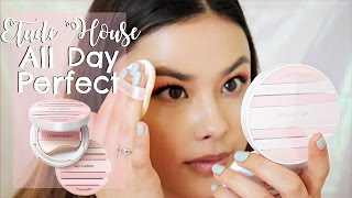 Etude House Any Cushion All Day Perfect First Impressions Review | The Beauty Breakdown