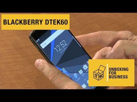 Unboxing for Business: BlackBerry DTEK60