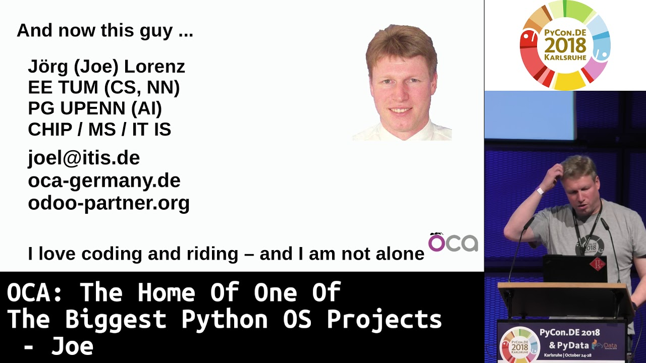 Image from OCA: The Home Of One Of The Biggest Python OS Projects