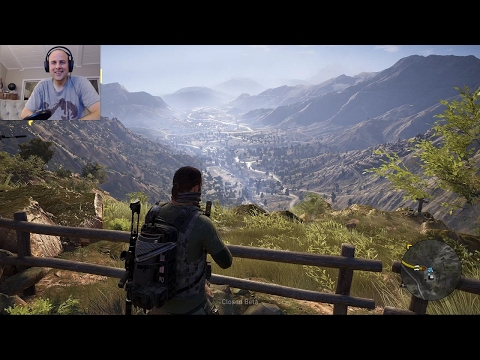 OPEN WORLD! 1 Hour Playing Ghost Recon Wildlands