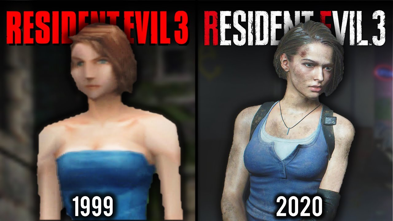 resident evil 3 original vs remake