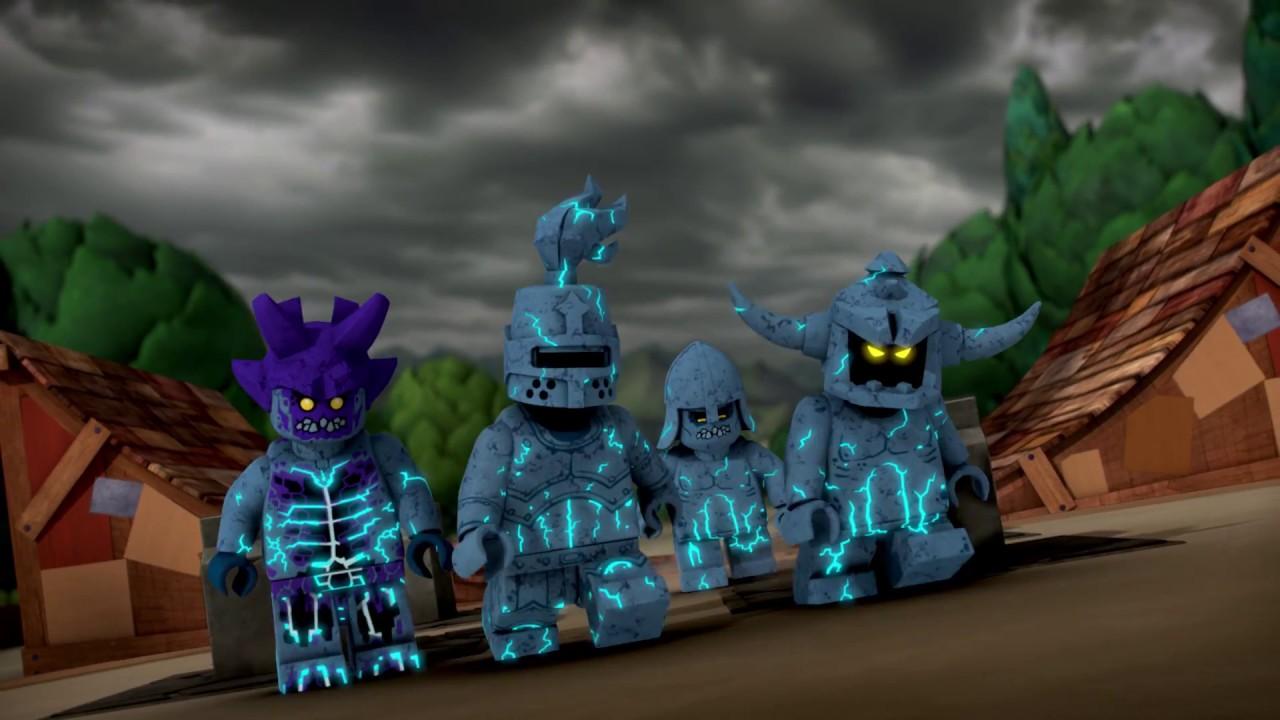 The return of Monstrox - LEGO Nexo Knights - Mini Movie - YouTube