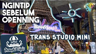 Download Video [NONGKI TIPIS] Ngintip Trans Studio Mini Transmart Lampung sebelum Openning MP3 3GP MP4