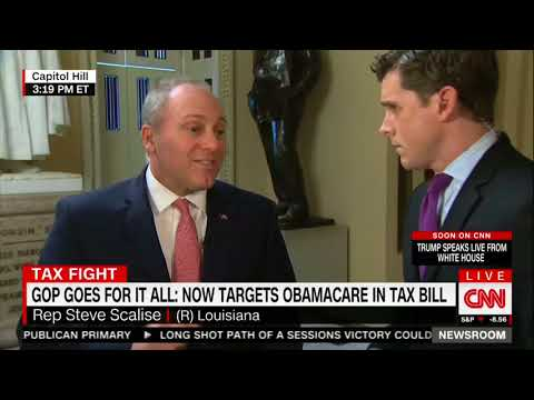 Scalise forgets about Bush tax cuts while touting GOP tax plan