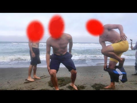 Three Losers have to Jump into the ICY COLD Water! Only ONE Winner