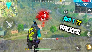 Am I Hacker ? Play Free Fire Like Hacker | Garena Free Fire - P.K. GAMERS Free Fire Fist Fight King