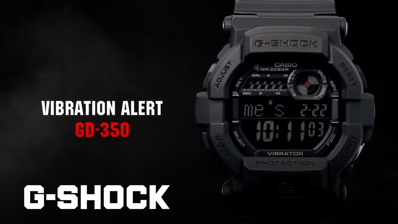Casio G Shock Gd 350 Youtube Edifice Efr546bkg1av