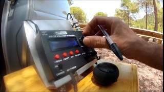 Repeat youtube video Practicando telegrafia.
