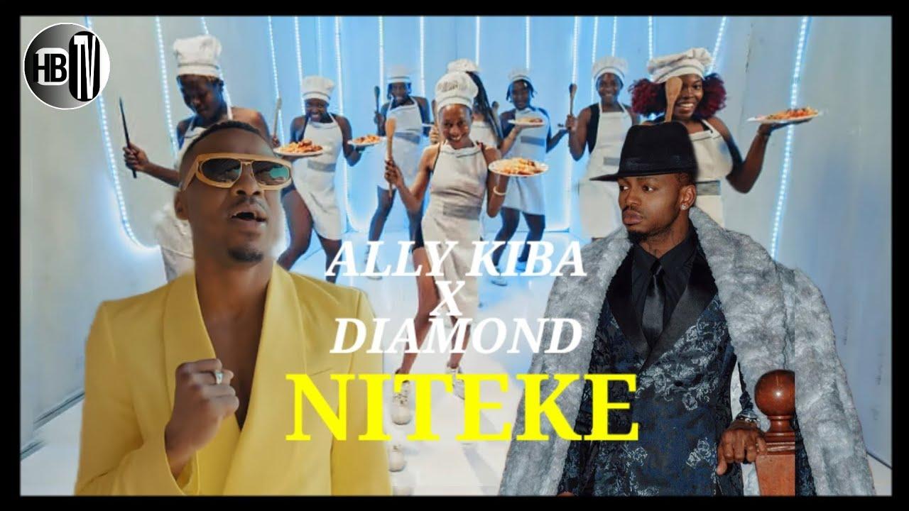 Download Alikiba Ft Diamond - Niteke Video (Historia imeandikwa)