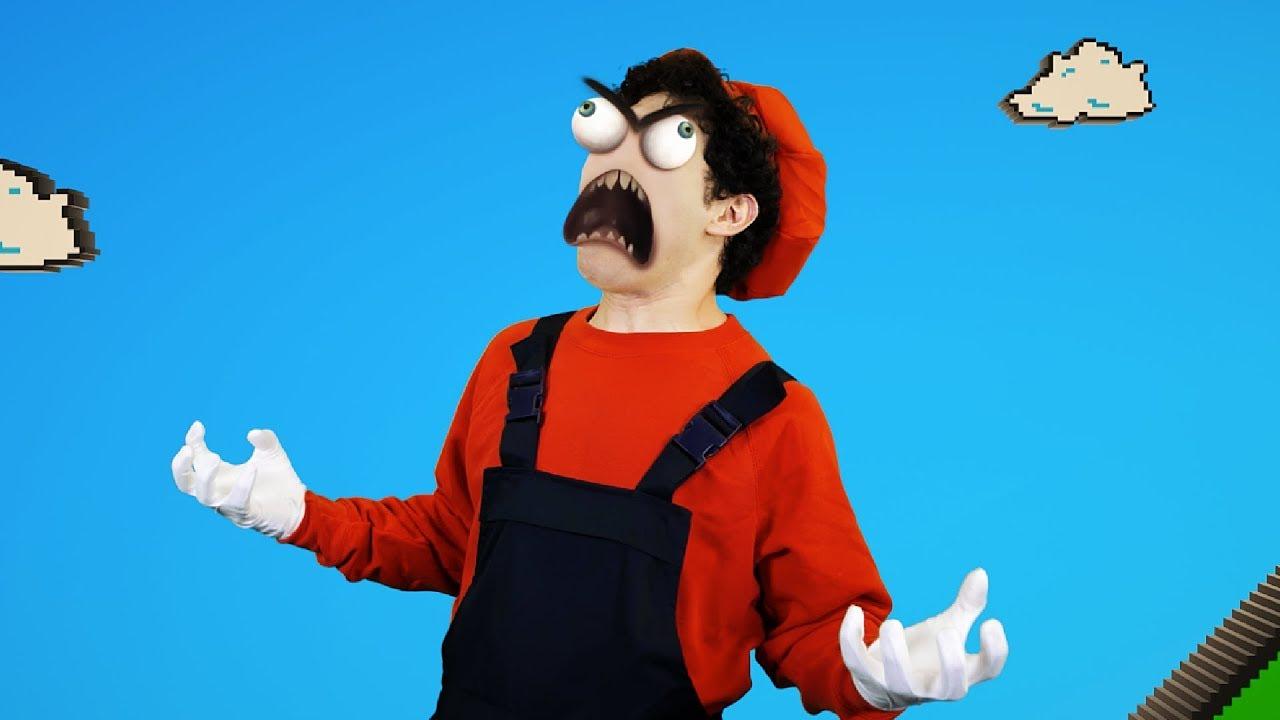 Super Mario RAGE COMICS