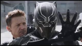 Captain America Civil War    Hawkeye Vs Black Panther