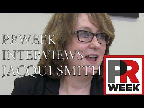 PRWeek interviews Jacqui Smith