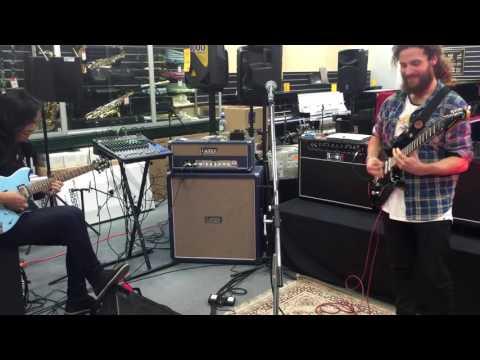 Me Jamming with Jack Thammarat (Music Works Christchurch, New Zealand 07.07.16)