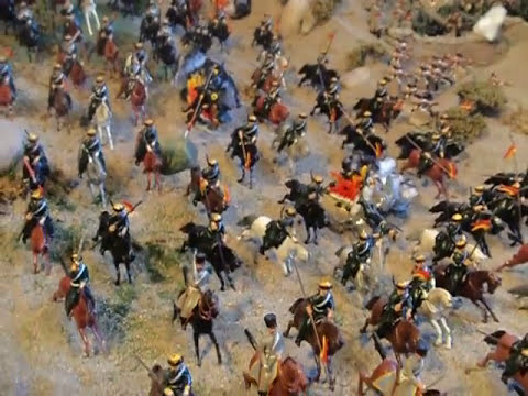 Diorama - Crimean War 1854 Balaclava  (The Thin Red Line)-  YouTube Video