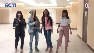 Tingkah laku jodie di JAM dan ghea indrawari indonesian idol 2018