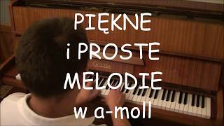 Fajne utwory na pianino/ wszystkie w a-moll