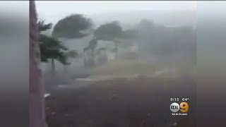 Hurricane Willa Makes Landfall With Winds Estimated At 120 MPH