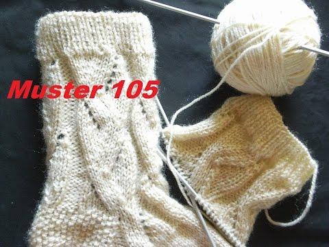 Muster 105* Stricken mit Nadelspiel*Muster für Kinder Socken*Mützen Handschuhe*