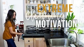 EXTREME FALL CLEAN WITH ME MOMMY CLEANING MOTIVATION