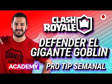 Defender el gigante goblin - Clash Royale - Esports Academy Tips