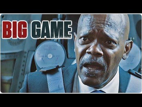 Big Game Trailer + Film Clips + Making Of German Deutsch (Samuel L Jackson Film 2015)