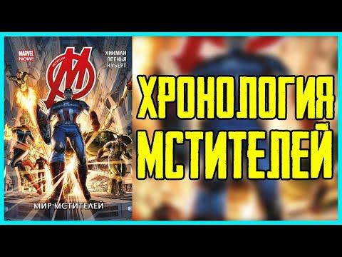 В каком порядке читать комиксы Мстители. Хронология комиксов Avengers