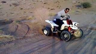 lavins quad bike stunts