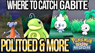 How to Catch Politoed, Goomy, Gabite, Vanillite & More in Pokemon Sun and Moon | Austin John Plays