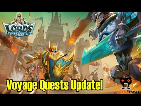 Lords Mobile | Voyage Quests Update