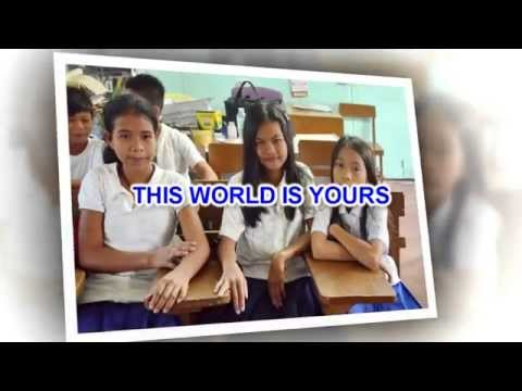 Graduation Song - This world is yours - Julie Durden (Lyrics)