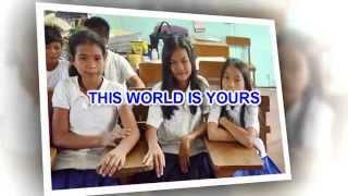 Graduation Song - This world is yours - Julie Durden (Lyrics)