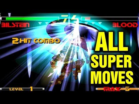 Star Gladiator 2 All Super Moves - Nightmare of Bilstein - Plasma Sword