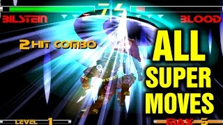 Star Gladiator 2 All Super Moves - Nightmare of Bilstein - Plasma Sword