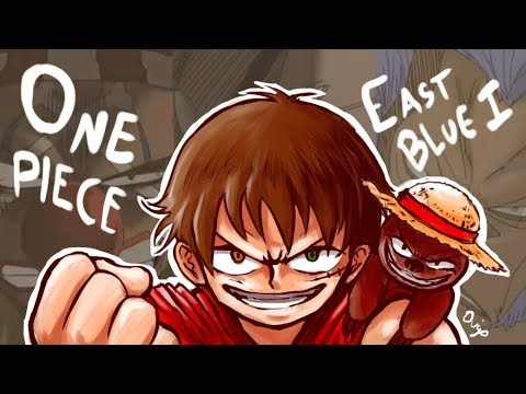 "Reseña perezosa #100-1: ""One Piece"" (East Blue - Parte 1)"