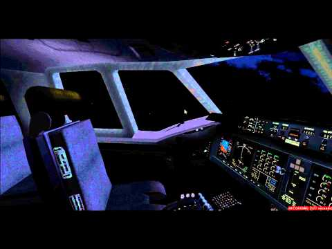 Night landing at Tegucigalpa Airport MD 11