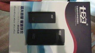 Розпакування, Aliexpress, 16$, Powerbank QD186-TY на 6x18650