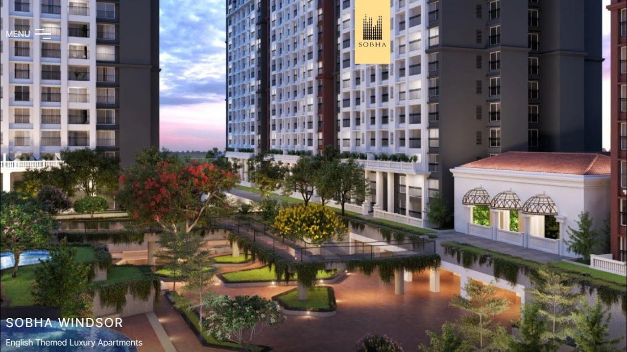 Sobha Windsor 3 Bedroom Apartments Whitefield Main Road Bangalore