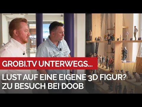 Zu Besuch Bei Doob: Lust Auf Eine Eigene 3D Figur?