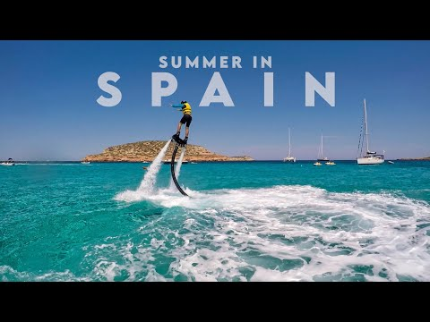 My summer in Spain Madrid, Barcelona, Mallorca, Ibiza
