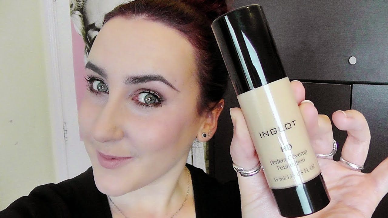 Inglot Hd Perfect Coverup Foundation Review First