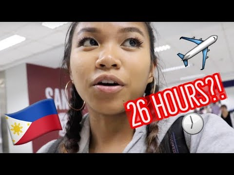 Flight to the Philippines Vlog   LIFE OF ATHENA