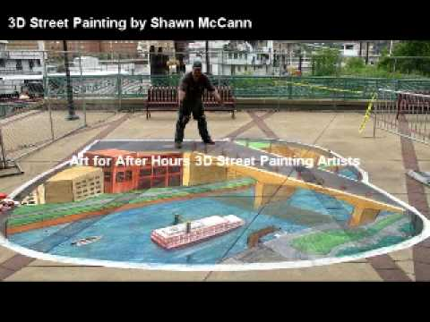 AfAH 3D Street Painting Artists 2010