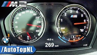 2018 bmw m2 acceleration top speed 0 269km h by autotopnl