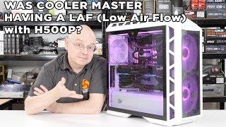 CoolerMaster MasterCase H500P MESH White - Was CoolerMaster having a LAF?