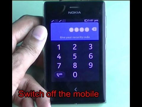 Nokia Asha 503: Remove Password by Flashing